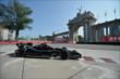 Jack Hawksworth passes by the Princes' Gate at Turn 1 during practice for the Honda Indy Toronto -- Photo by: Eric Anderson