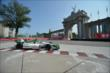 Carlos Munoz passes by the Princes' Gate at Turn 1 during practice for the Honda Indy Toronto -- Photo by: Eric Anderson