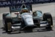 Mike Conway exits Turn 5 during practice for the Honda Indy Toronto -- Photo by: Joe Skibinski