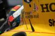 Ryan Hunter-Reay sits on pitlane prior to practice for the Honda Indy Toronto -- Photo by: Joe Skibinski