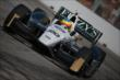 Mike Conway on course during practice for the Honda Indy Toronto -- Photo by: Shawn Gritzmacher