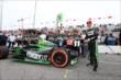 Sebastien Bourdais wins the Verizon P1 Award for winning the pole for Race 1 of the Honda Indy Toronto -- Photo by: Chris Jones