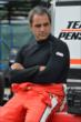 Juan Pablo Montoya sits on pit lane prior to qualifications for Race 1 of the Honda Indy Toronto -- Photo by: Chris Owens
