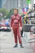 Marco Andretti stands on pit lane prior to qualifications for Race 1 of the Honda Indy Toronto -- Photo by: Chris Owens