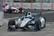 Juan Pablo Montoya and Ryan Briscoe enter Turn 3 during qualifications for Race 1 of the Honda Indy Toronto -- Photo by: Chris Owens