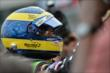 Sebastien Bourdais on pit lane after qualifications for Race 1 of the Honda Indy Toronto -- Photo by: Eric Anderson