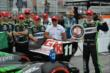 Sebastien Bourdais claims the Verizon P1 Award for winning the pole for Race 1 of the Honda Indy Toronto -- Photo by: Eric Anderson