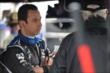 Helio Castroneves waits in his pit stand during a rain delay for the start of Race 1 of the Honda Indy Toronto -- Photo by: Eric Anderson