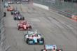 The field is underway for Race 1 of the Honda Indy Toronto -- Photo by: Chris Jones