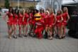 The Toronto Sun Grid Girls pose for a photo at the Honda Indy Toronto -- Photo by: Chris Jones
