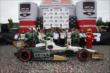 Mike Conway and Ed Carpenter Racing celebrate their victory in Race 2 of the Honda Indy Toronto -- Photo by: Chris Jones