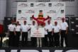 Mike Conway captures Firestone's 250th victory in their return to Indy Car racing after winning Race 2 of the Honda Indy Toronto -- Photo by: Chris Jones
