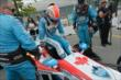 James Hinchcliffe slides into his machine prior to Race 1 of the Honda Indy Toronto -- Photo by: Chris Owens