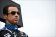 Helio Castroneves waits in his pit stand prior to Race 1 of the Honda Indy Toronto -- Photo by: Chris Owens