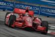 Tony Kanaan apexes Turn 9 during Race 1 of the Honda Indy Toronto -- Photo by: Chris Owens
