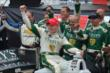 Mike Conway and Ed Carpenter Racing celebrate victory in Race 2 of the Honda Indy Toronto -- Photo by: Chris Owens