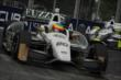 Mike Conway enters Turn 5 during Race 2 of the Honda Indy Toronto -- Photo by: Joe Skibinski