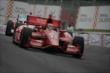 Tony Kanaan enters Turn 4 during Race 2 of the Honda Indy Toronto -- Photo by: Joe Skibinski