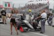 The car of Luca Filippi is rolled out to the grid prior to Race 2 of the Honda Indy Toronto -- Photo by: Joe Skibinski