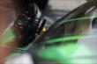 The steering wheel of Sebastien Bourdais after winning Race 1 of the Honda Indy Toronto -- Photo by: Shawn Gritzmacher
