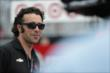 Dario Franchitti on pit lane during Race 2 of the Honda Indy Toronto -- Photo by: Shawn Gritzmacher