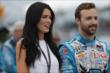 James Hinchcliffe and his girlfriend Kirsten during pre-race festivities for Race 2 of the Honda Indy Toronto -- Photo by: Shawn Gritzmacher