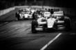 Marco Andretti leads a group of cars into Turn 3 during Race 1 of the Honda Indy Toronto -- Photo by: Shawn Gritzmacher