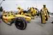 The Andretti Autosport team of Ryan Hunter-Reay make wholesale changes during Race 1 of the Honda Indy Toronto -- Photo by: Shawn Gritzmacher